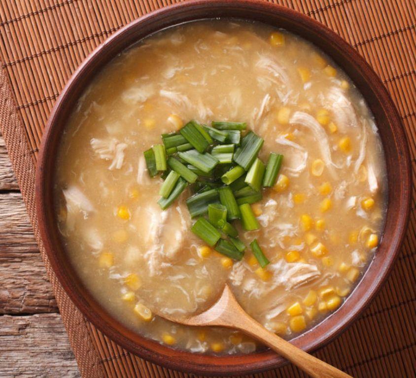 Non/Veg Sweet Corn Soup