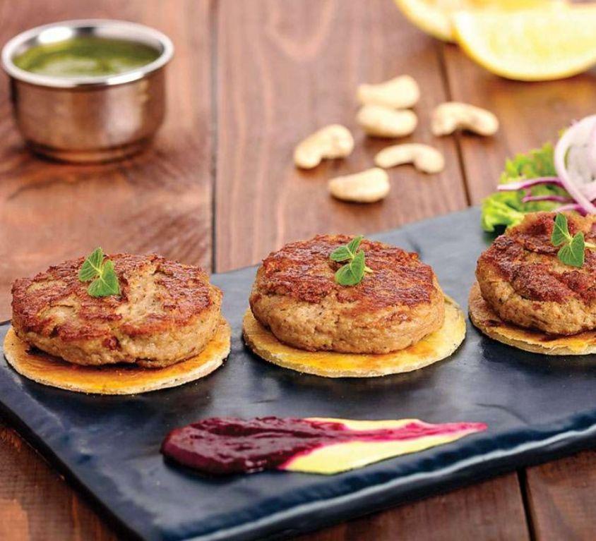 Galouti Kabab With two Tawa Paratha