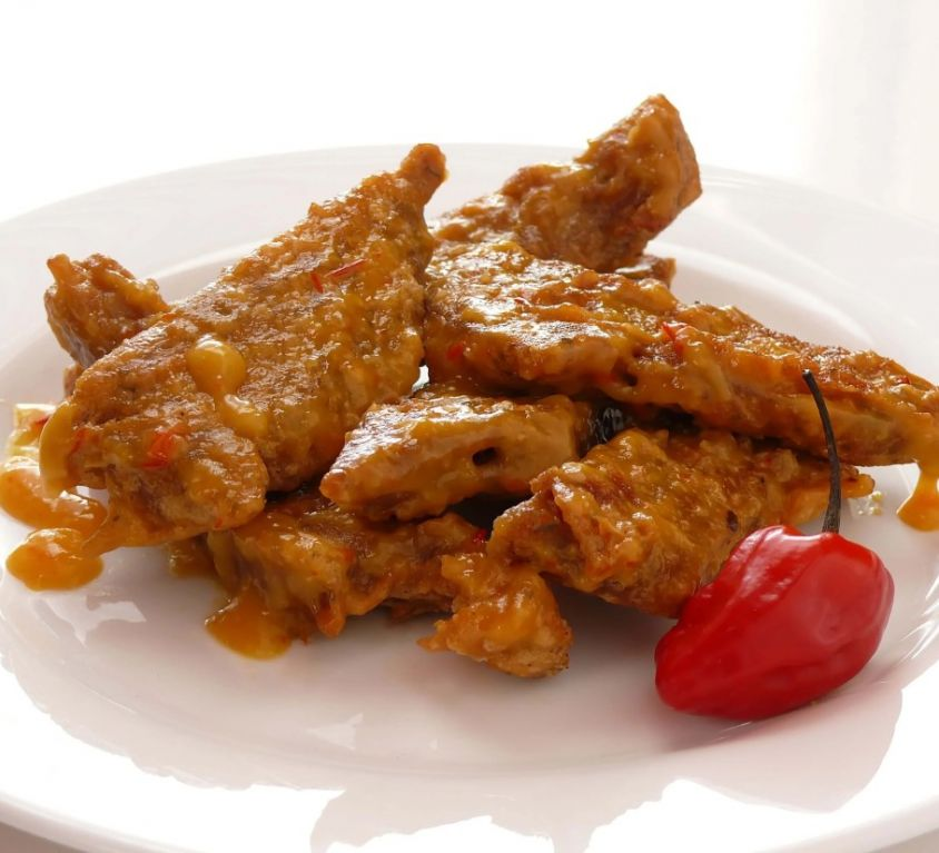 Vegetarian Wings (vegan items)